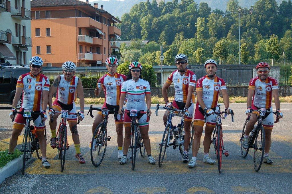 sportfull ciclismo  Ciclismo> I centurioni giallorossi portano il sole sulle Dolomiti ...