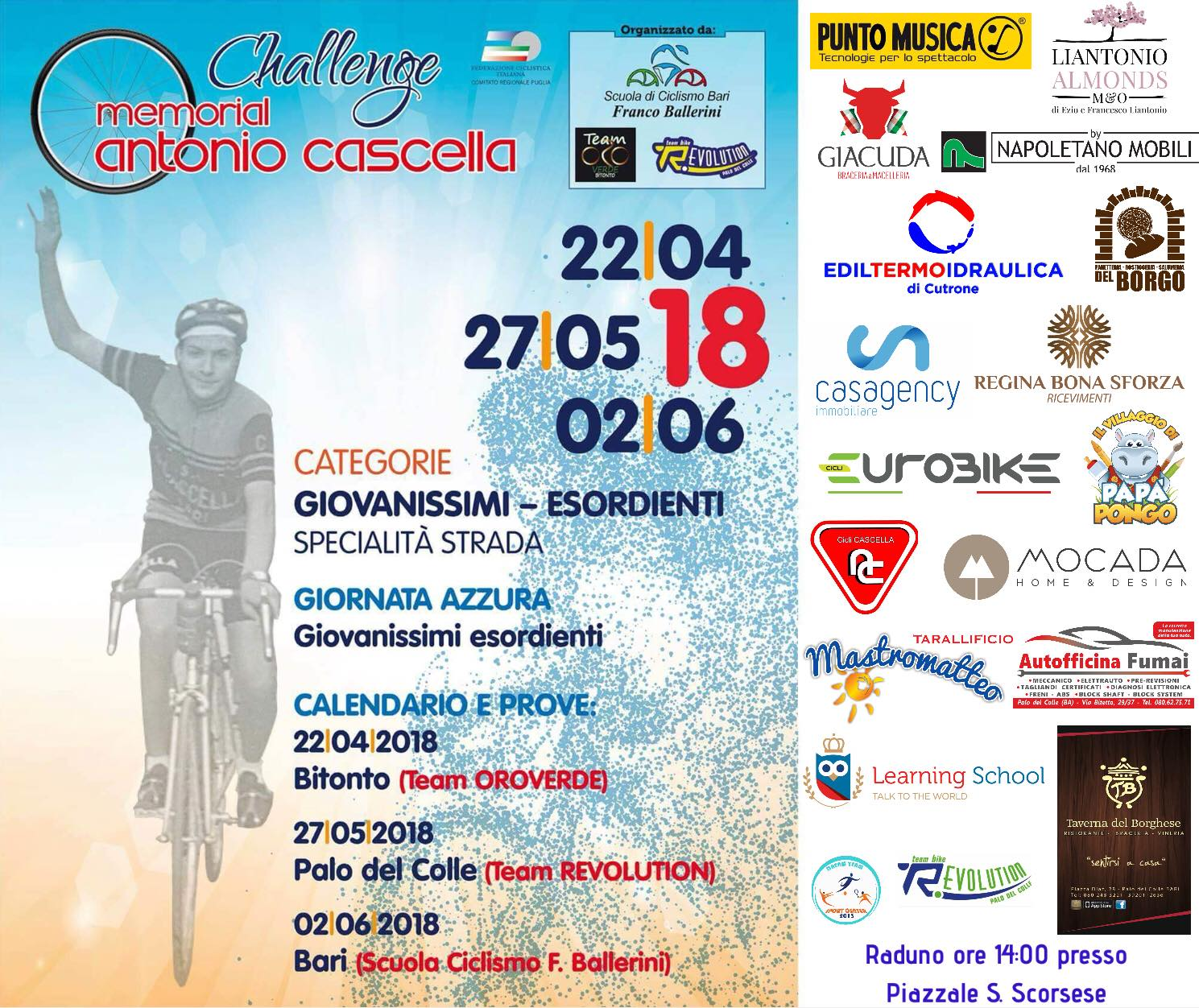 Fci Calendario.Ciclismo Fci Puglia Le Manifestazioni In Calendario