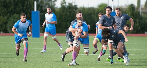 Rugby Top 12 2018/2019 Fiamme Oro VS Verona Rugby